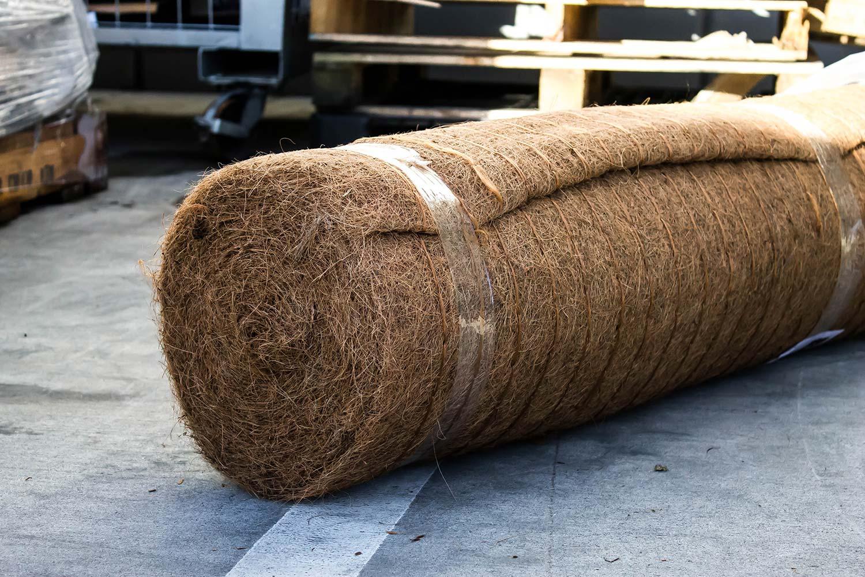 Biocoir Biodegradable Coconut Fibre Matting Cirtex Civil