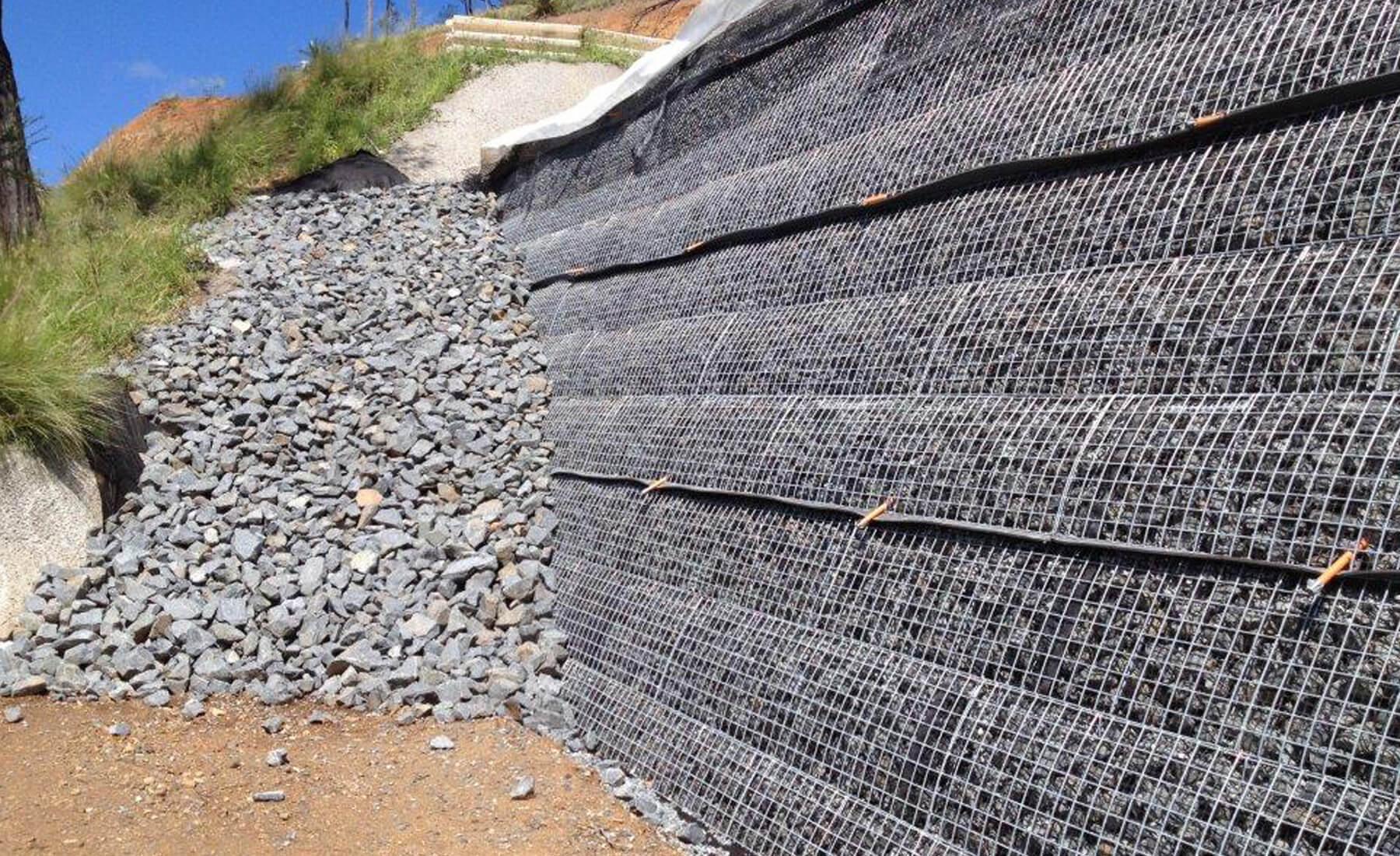 Duramesh 174 Reinforced Soil System With Steel Mesh