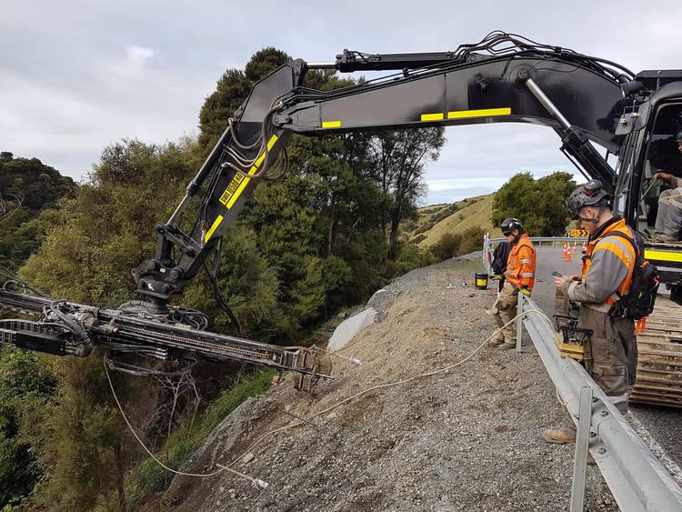 Slips on roads NZ