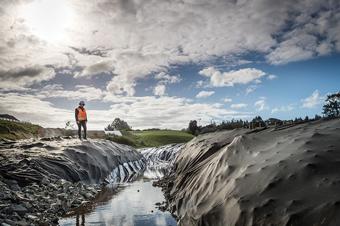 Enviroforce erosion control