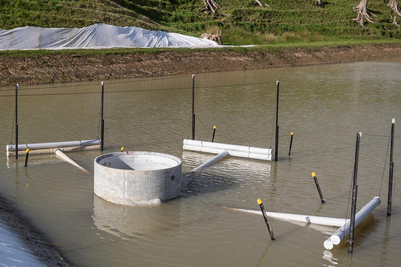 Sediment Retention Pond Decant