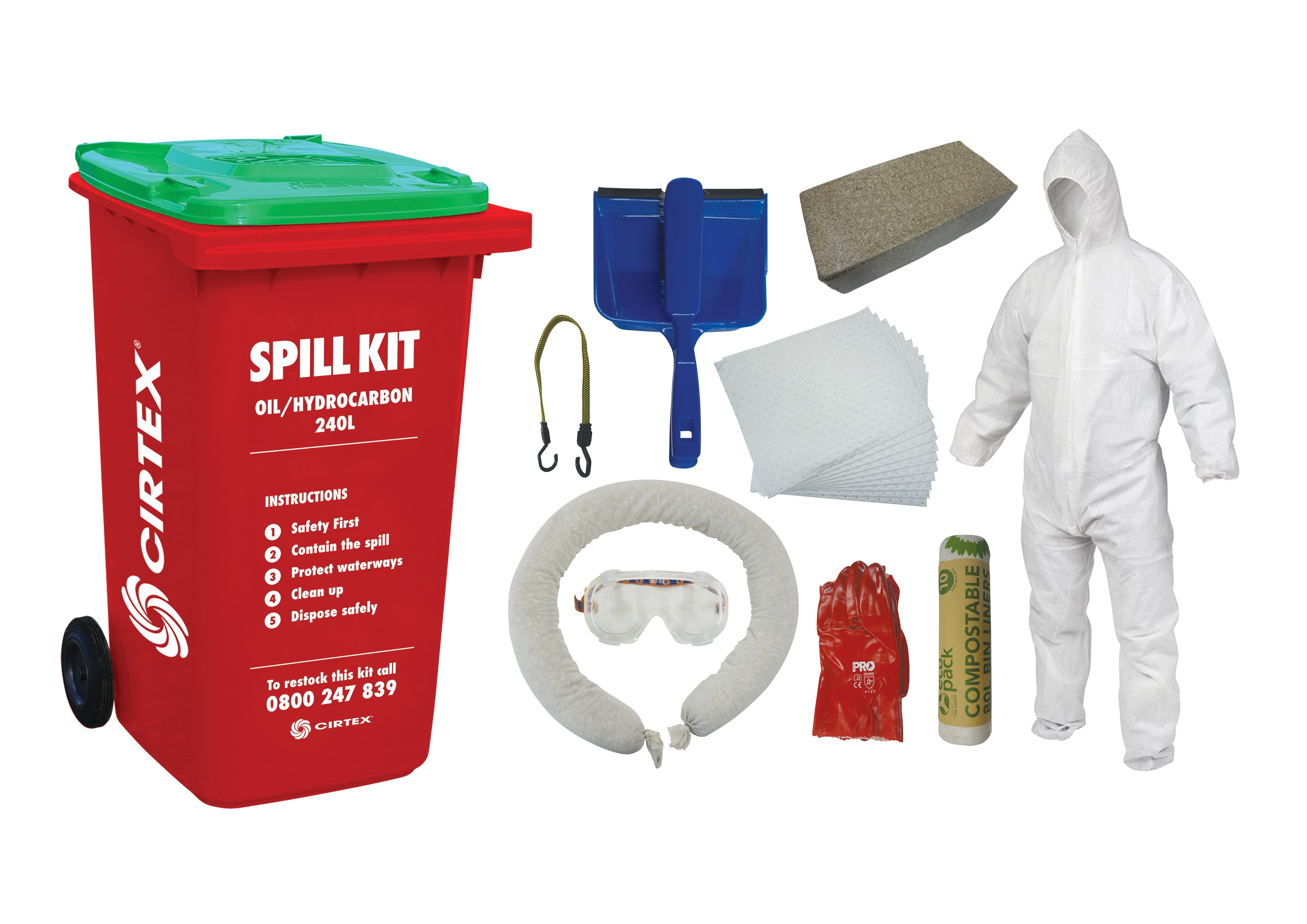 Spill Kit and components